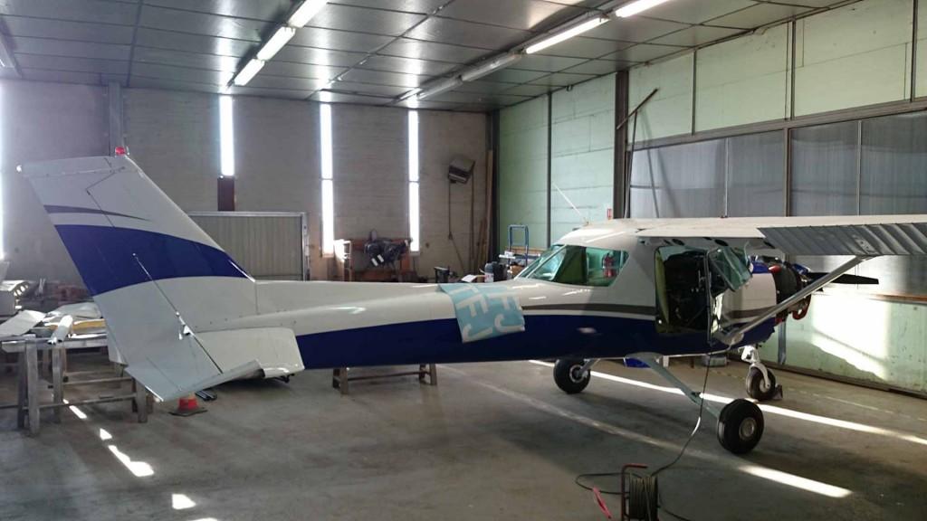 F-BTFJ en cours de rénovation